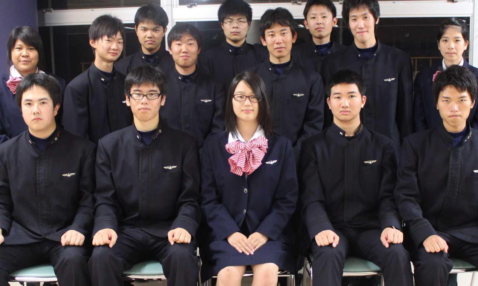 生徒会集合!: 日本航空高校石川...
